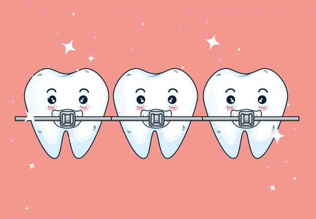 cuidar los dientes con ortodoncia